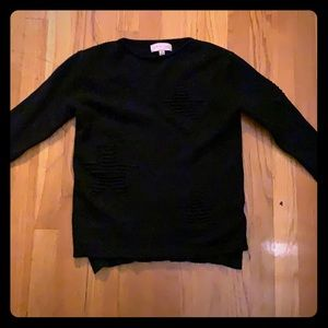 Philosophy Black Sweater Size Small